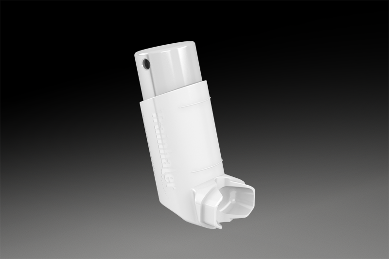 How to use an inhaler - no spacer