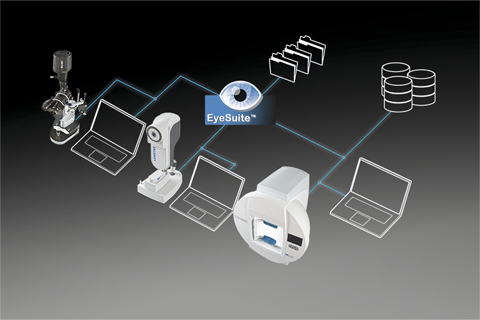 CM 900 and EyeSuite imaging software