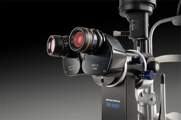 Slit lamp with LED added