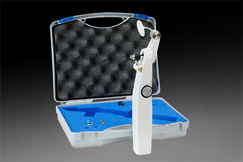 Carrying case for the Perkins tonometer