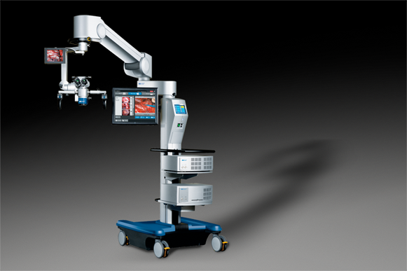 Stability of the 3-1000 surgical microscope