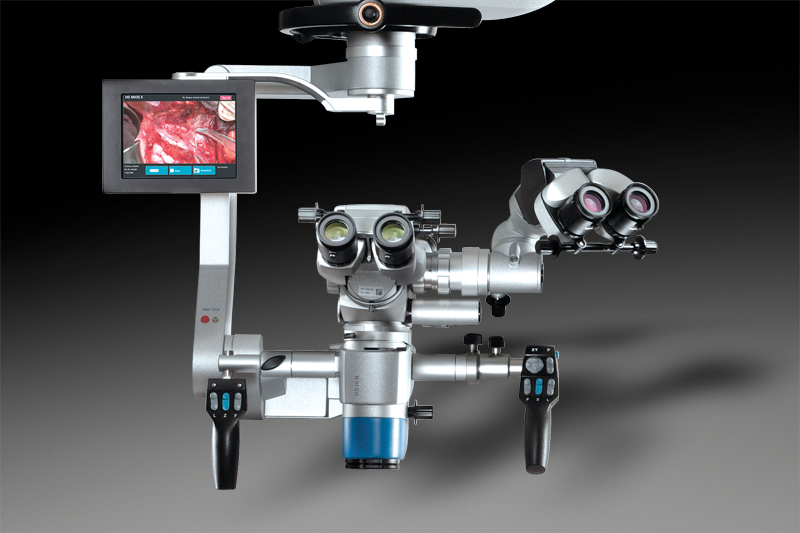 Images of microscopes compatible with the FS 3-43 floor stand
