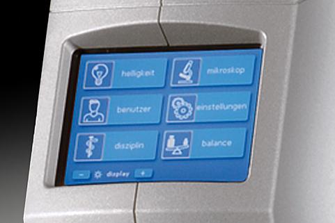 Hi-R NEO 900 settings and adjustments screen