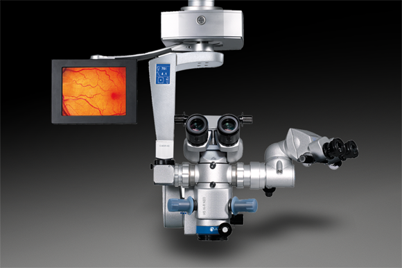 Hi-R NEO 900 microscope with viewing monitor