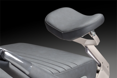 Headrest options for Reliance 6200 exam chair