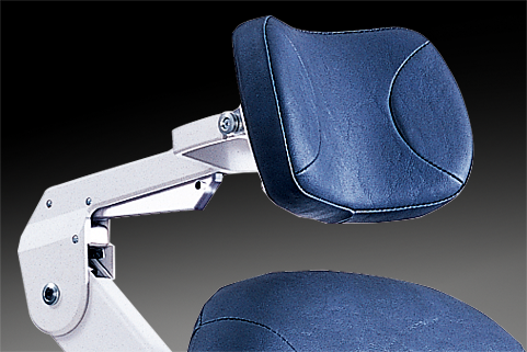 Headrest options for Reliance FXM 920 chair