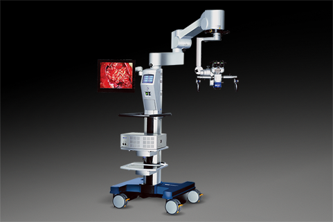 Flexible, durable surgical microscopes