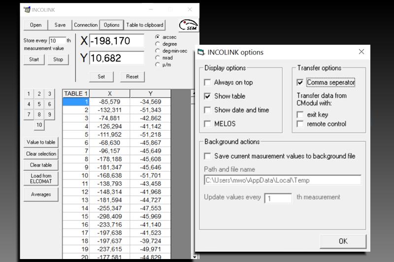Software for ELCOMAT series\'   INCOLINK   ELCOWIN   RTM   MÖLLER ...